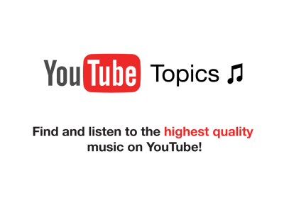 YouTube Topics Display
